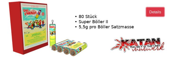 Katan Oldschoolböller Super Böller II / Neuheit 2020